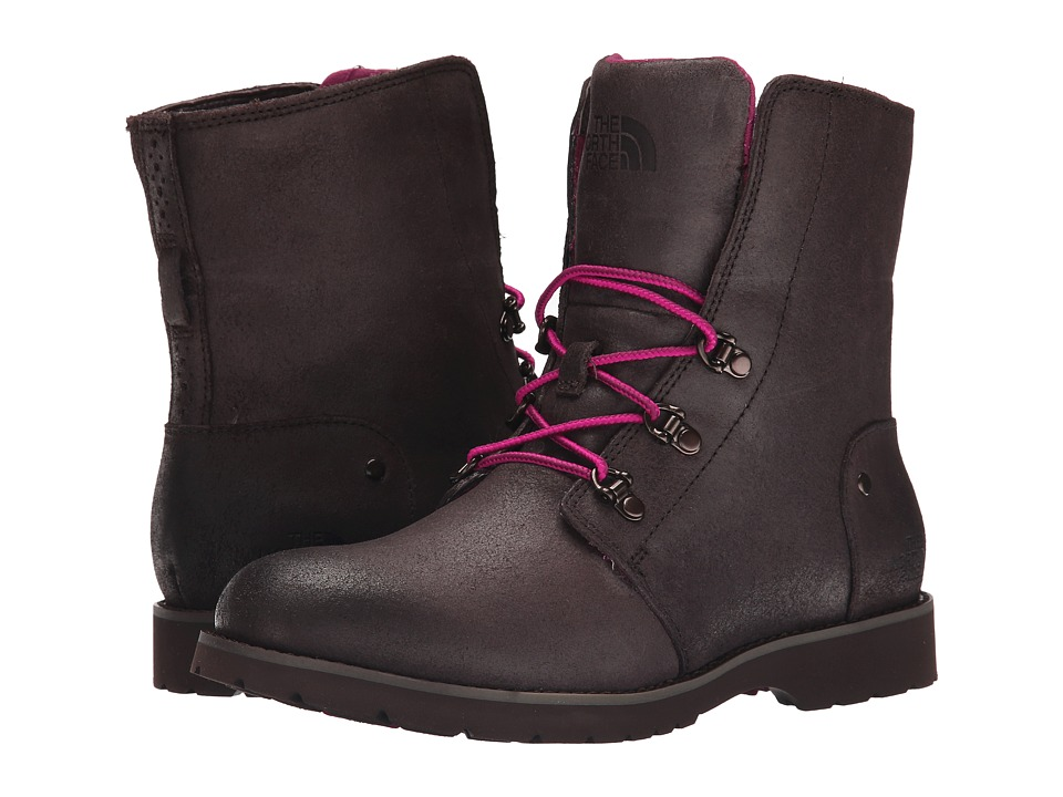 The North Face - Ballard Lace (Mulch Brown/Radiance Purple) Women's Boots