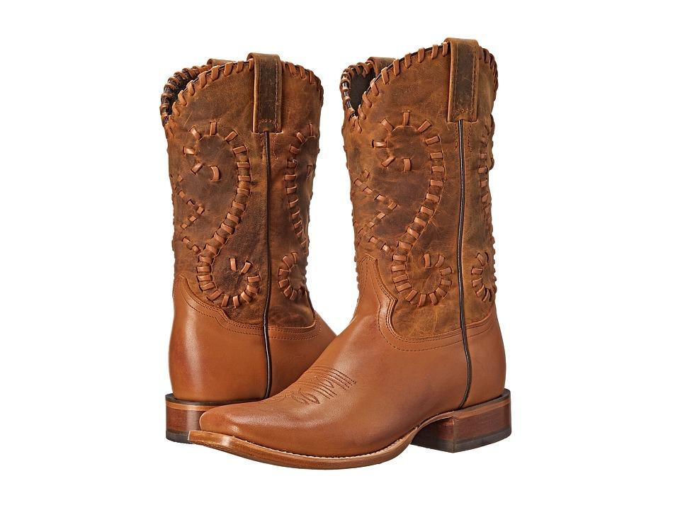 Stetson - Saffron (Brown) Cowboy Boots