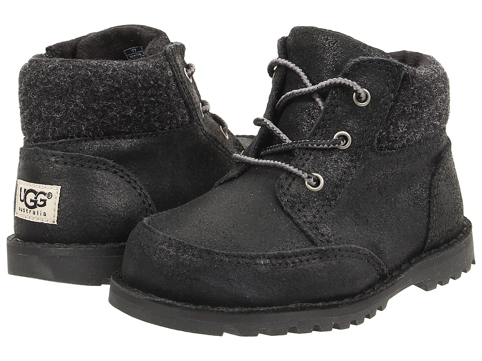 UGG Kids - Orin Wool (Toddler/Little Kid) (Black) Boys Shoes
