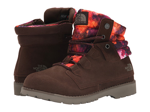 The North Face - Ballard Roll-Down SE (Deep Brown/Tessellated Floral) Women