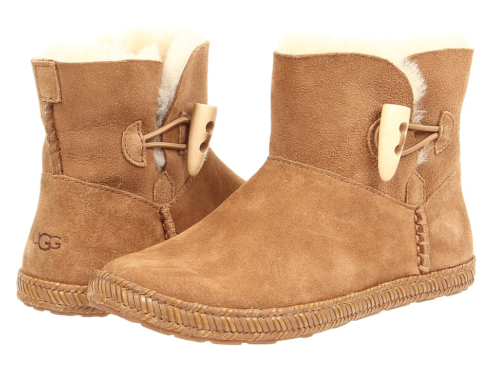 UGG Kids - Wyoming (Little Kid/Big Kid) (Chestnut) Girls Shoes