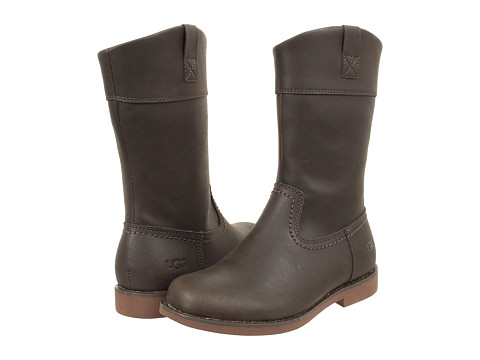 Shoes Online Sale UGG Kids - Fern (Toddler/Little Kid/Big Kid) (Chocolate) Girls Shoes