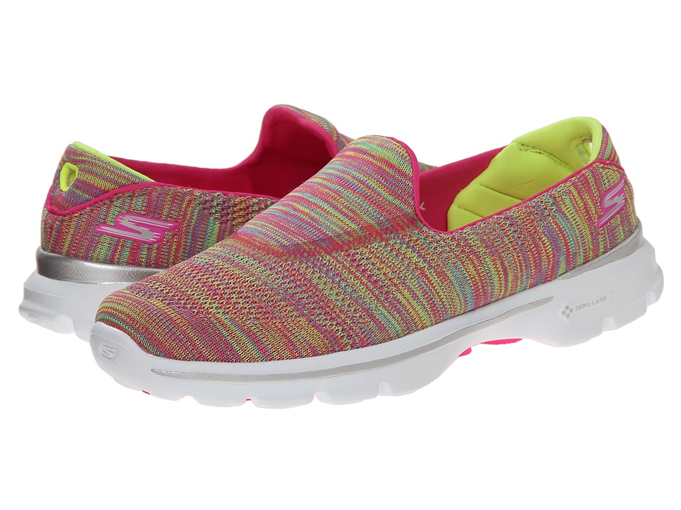 SKECHERS Performance - Go Walk 3 - Tilt (Multi) Women