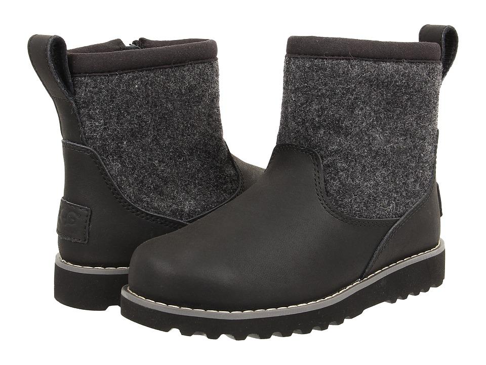 UGG Kids - Bayson (Toddler/Little Kid/Big Kid) (Black) Boys Shoes
