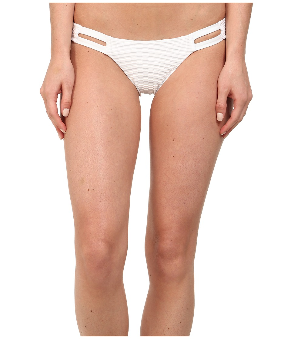Vitamin A Swimwear - Neutra Hipster (White Texture) Women's Swimwear