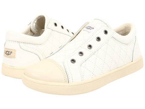 UGG Kids - Zinnia (Toddler/Little Kid/Big Kid) (White) Girls Shoes