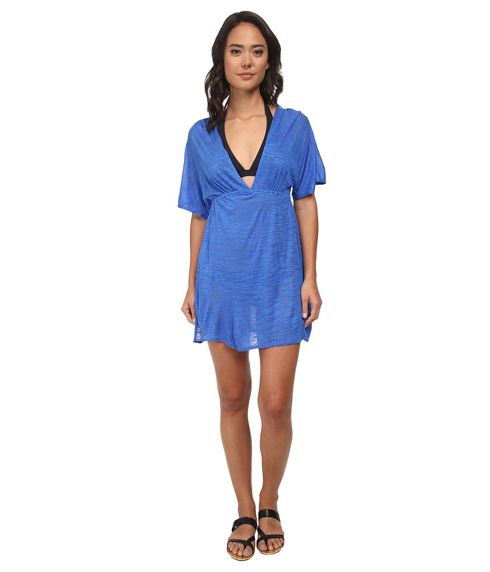 Vitamin A Swimwear - New Paradise Plunge Tunic Cover-up (Vista Shantung) Women's Swimwear