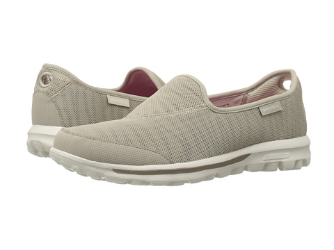 SKECHERS Performance - Go Walk - Extract (Stone) Women's Flat Shoes