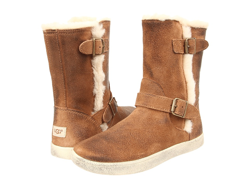 UGG Kids - Barley (Toddler/Little Kid/Big Kid) (Chestnut) Girls Shoes