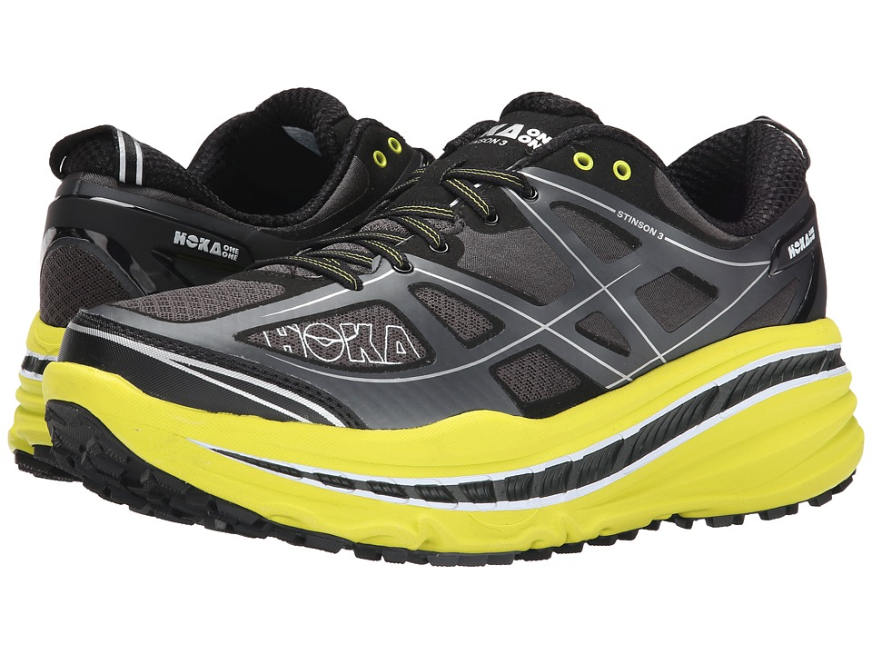 Hoka One One - Stinson 3 ATR (Grey/Citrus) Men's Running Shoes