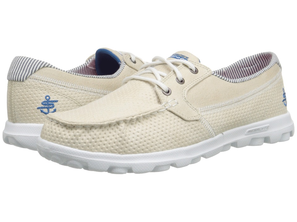 SKECHERS Performance - On The Go - Tide (Stone) Women's Lace up casual Shoes