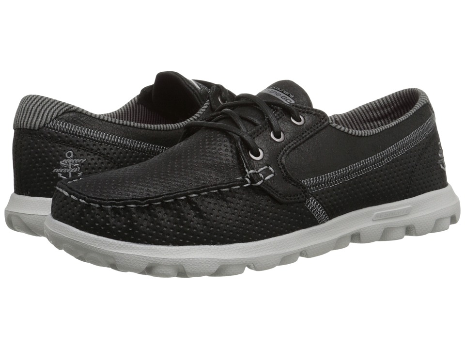 SKECHERS Performance - On The Go - Tide (Black) Women's Lace up casual Shoes