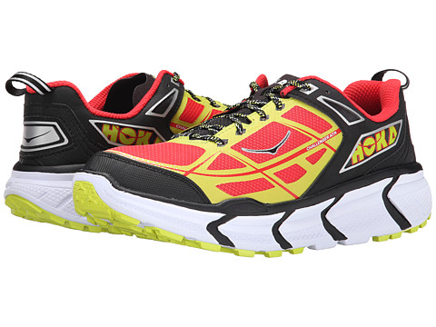 Hoka One One - Challenger ATR (Black/Poppy Red) Men's Running Shoes
