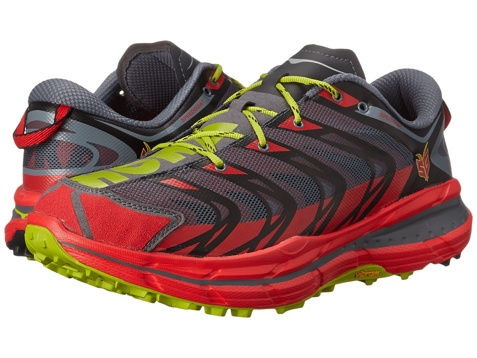 Hoka One One - Speedgoat (Bright Red/Black) Men's Running Shoes