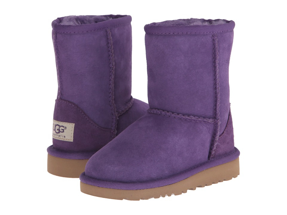 UGG Kids - Classic (Toddler/Little Kid) (Bilberry) Kids Shoes