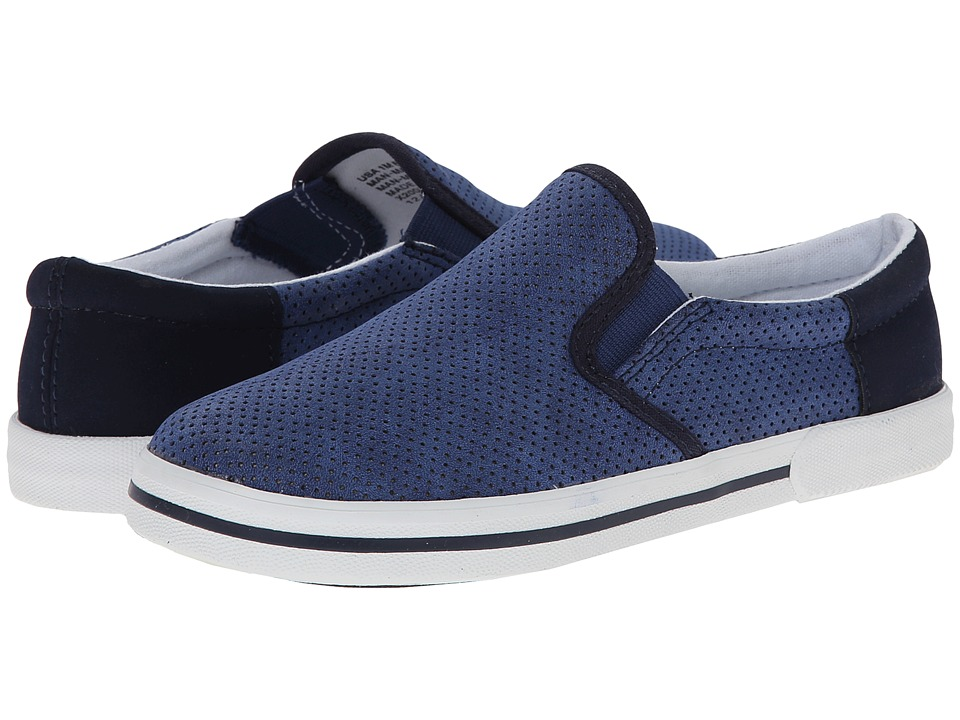 Elements by Nina Kids - Keith (Toddler/Little Kid/Big Kid) (Navy) Boy's Shoes