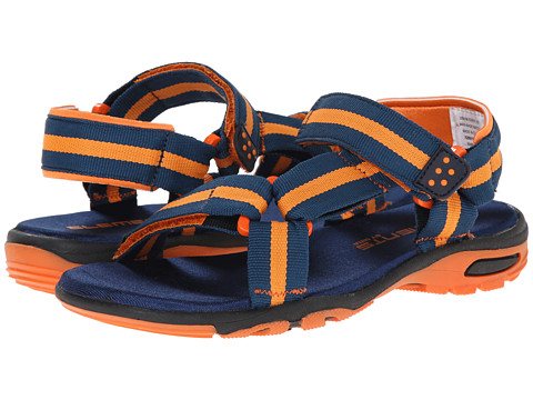 Elements by Nina Kids - Kellan (Toddler/Little Kid/Big Kid) (Navy/Orange) Boy's Shoes