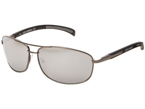 Steve Madden - S3127 (Matte Gun) Fashion Sunglasses