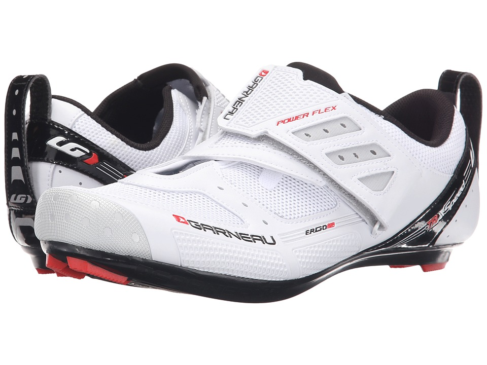 Louis Garneau - Tri X-Speed II (White) Men's Cycling Shoes