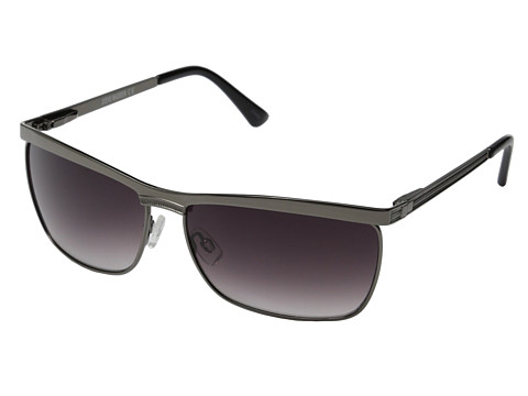 Steve Madden - S3130 (Matte Gun) Fashion Sunglasses