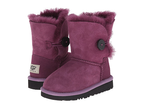 UGG Kids - Bailey Button (Toddler/Little Kid) (Aster) Girls Shoes