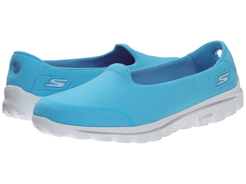 SKECHERS Performance - Go Walk 2 - Bind (Aqua) Women's Shoes