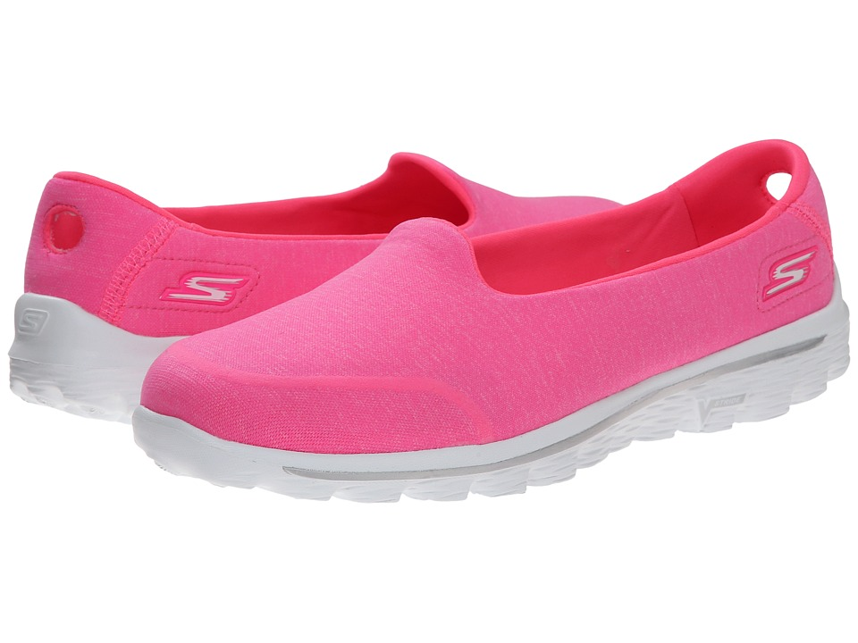 SKECHERS Performance - Go Walk 2 - Bind (Hot Pink) Women's Shoes