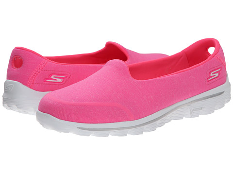 SKECHERS Performance - Go Walk 2 - Bind (Hot Pink) Women's Shoes