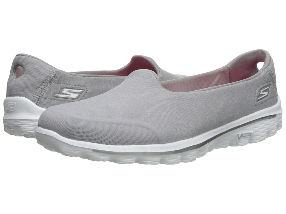 SKECHERS Performance - Go Walk 2 - Bind (Gray) Women's Shoes