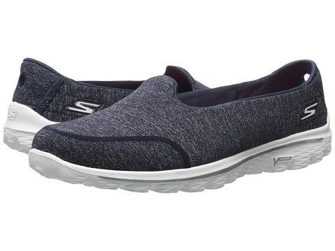 SKECHERS Performance - Go Walk 2 - Bind (Navy/White) Women's Shoes
