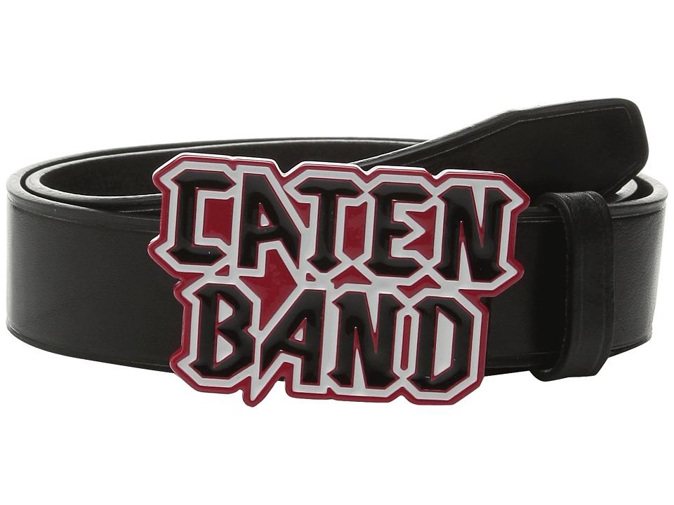 DSQUARED2 - Caten Band Belt (Black) Men's Belts