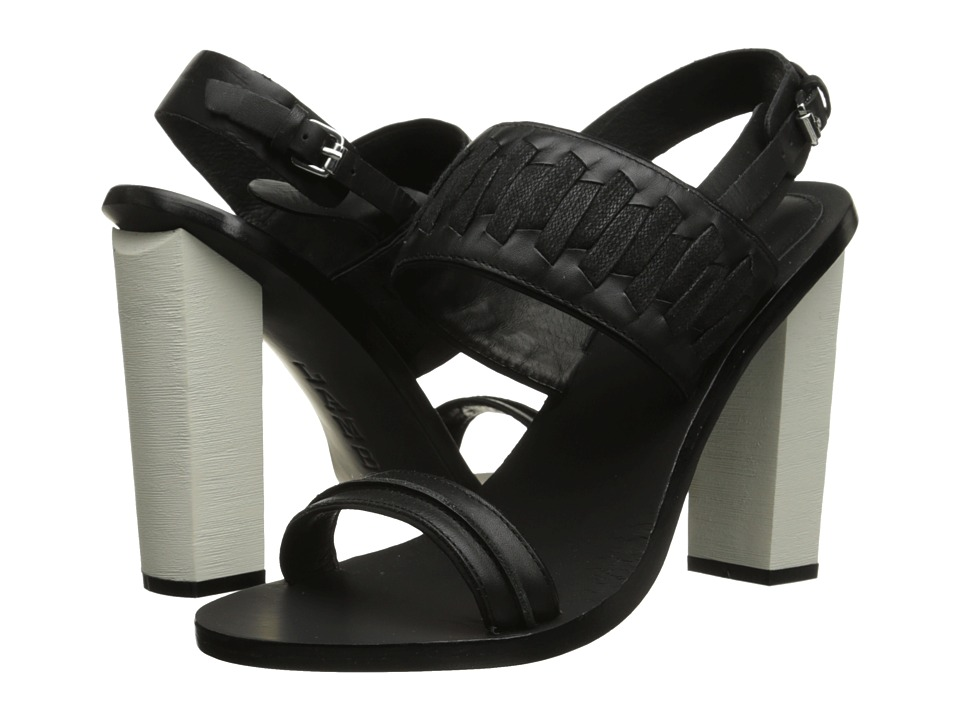 L.A.M.B. Valiant (Black) High Heels