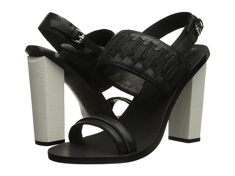 L.A.M.B. - Valiant (Black) High Heels