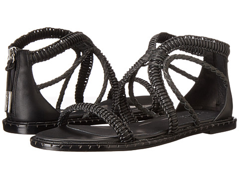 L.A.M.B. - Viper (Black/Black) Women's Dress Sandals