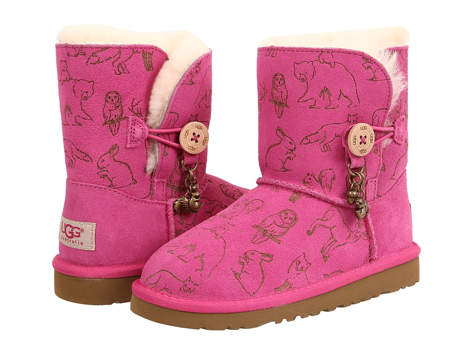 UGG Kids - Fauna (Little Kid/Big Kid) (Princess Pink) Girls Shoes
