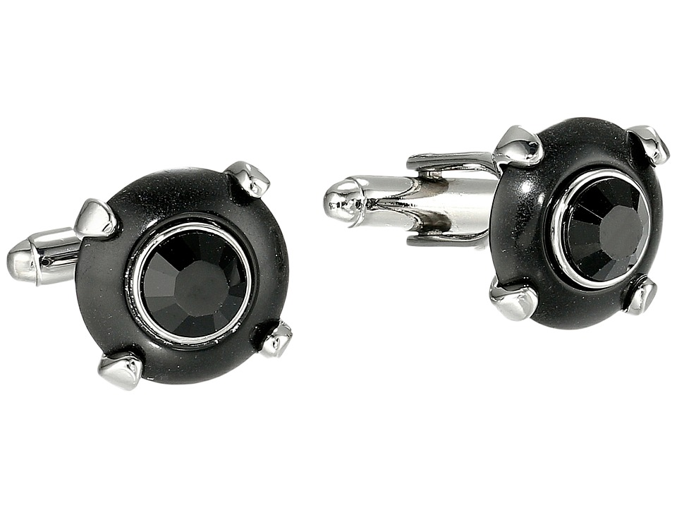 DSQUARED2 - Stud Cufflinks (Brass/Black/Gunmetal) Cuff Links