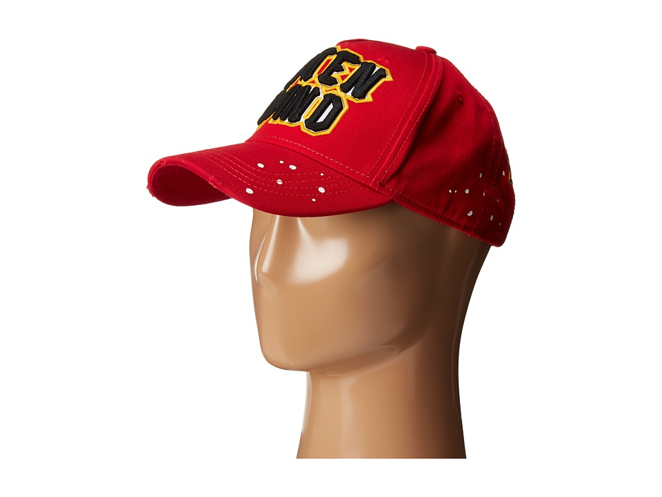 DSQUARED2 - Caten Band Baseball Cap (Red) Baseball Caps