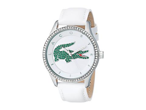 Lacoste - 2000893 VICTORIA (White/White/Green) Watches