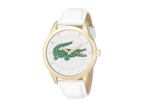 Lacoste - 2000894 VICTORIA (White/White/Green) Watches