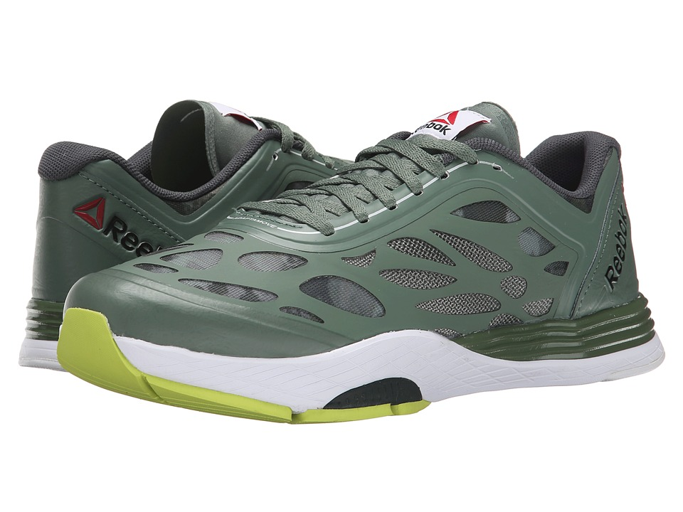 Reebok - Cardio Ultra (Silvery Green/Dark Sage/Semi Solar Yellow/Steel/White) Women