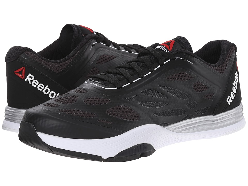 Reebok Cardio Ultra (Black/Gravel/Matte Silver/White/Neon Cherry) Women