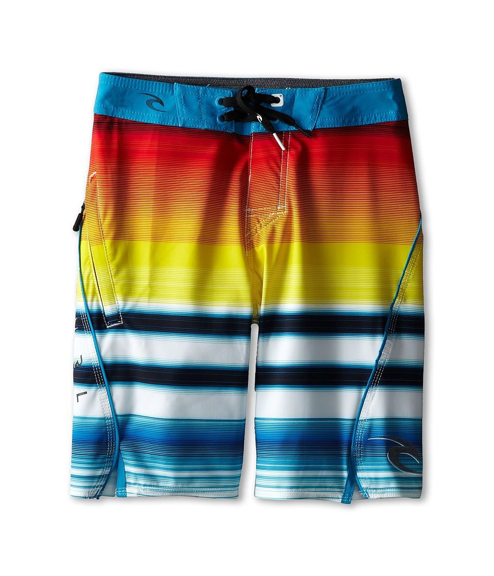 Rip Curl Kids - Mirage Aggrofader Boardshorts (Big Kids) (Bright Red) Boy's Swimwear