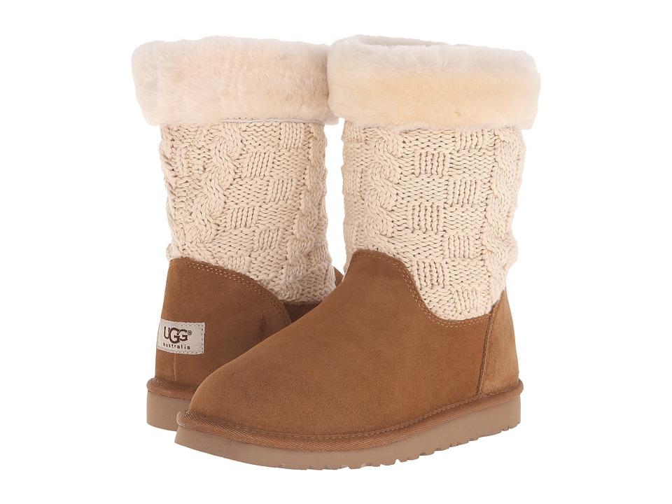 UGG Kids - Juniper (Big Kid) (Chestnut) Girls Shoes