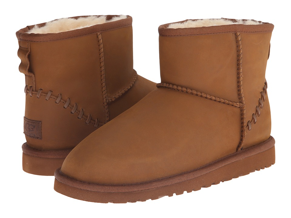 UGG Kids - Classic Mini Deco (Big Kid) (Chestnut) Kids Shoes