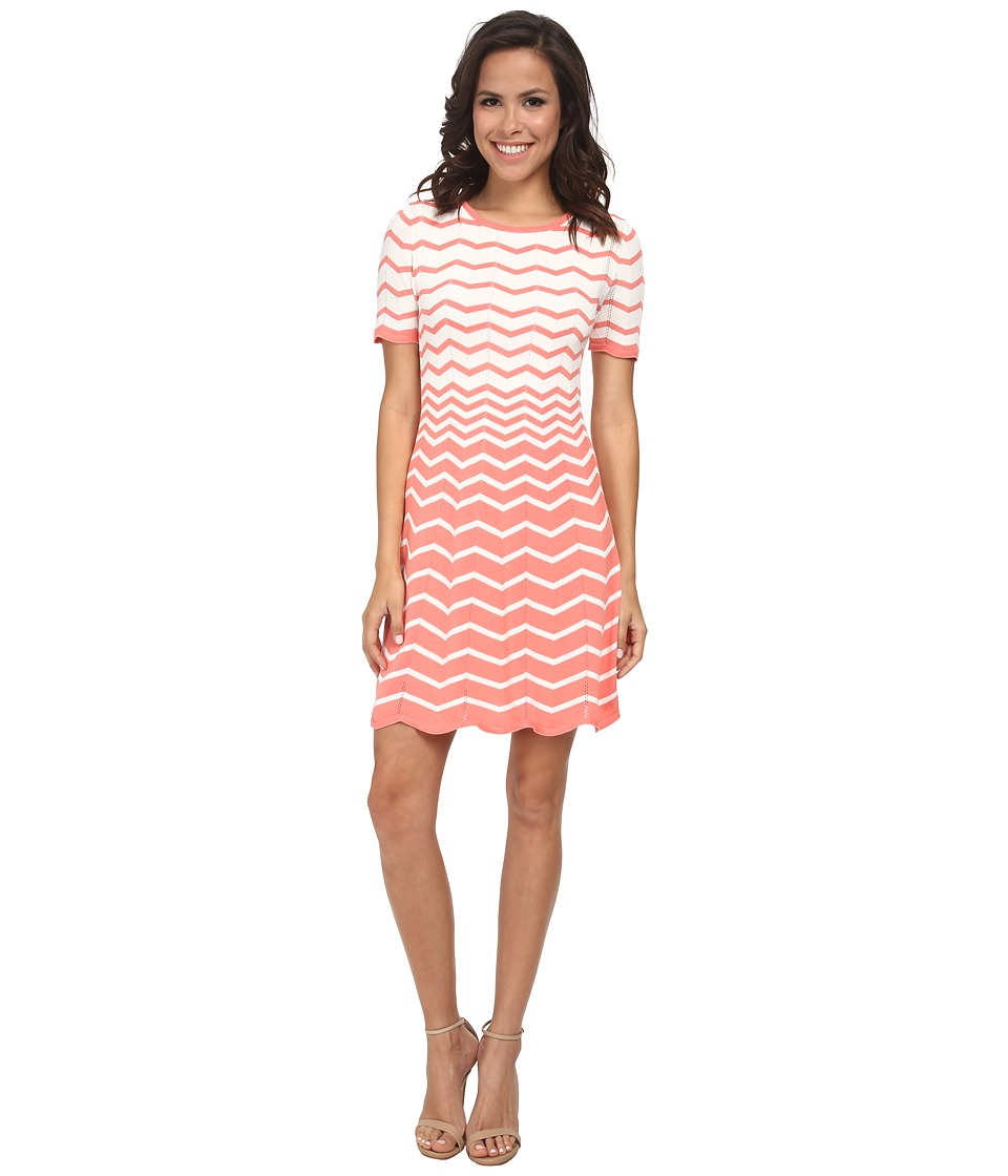 Trina Turk - Martinique 2 Dress (Whitewash/Summer Melon) Women