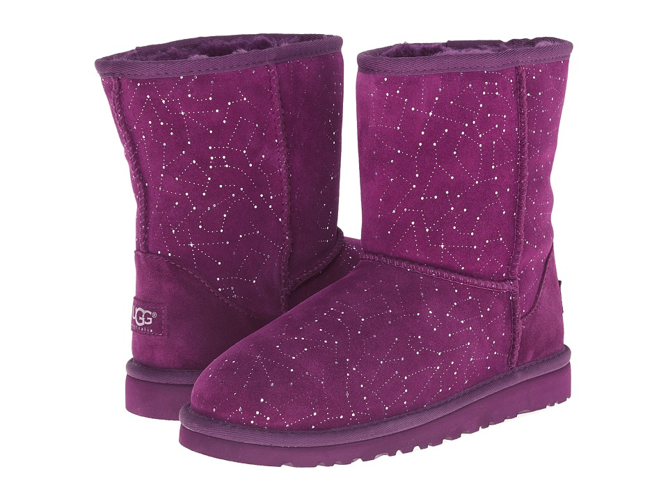 UGG Kids - Classic Short Constellation (Big Kid) (Aster) Girls Shoes
