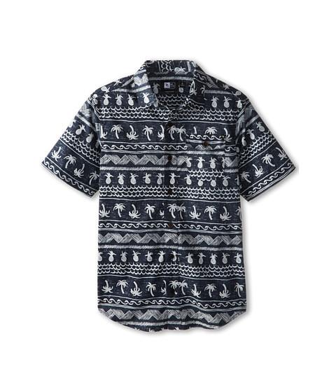 Rip Curl Kids - Coco Cabana Short Sleeve Shirt (Big Kids) (Navy) Boy
