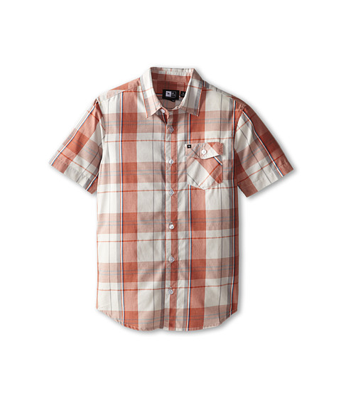 Rip Curl Kids - Manta Short Sleeve Shirt (Big Kids) (Stone) Boy