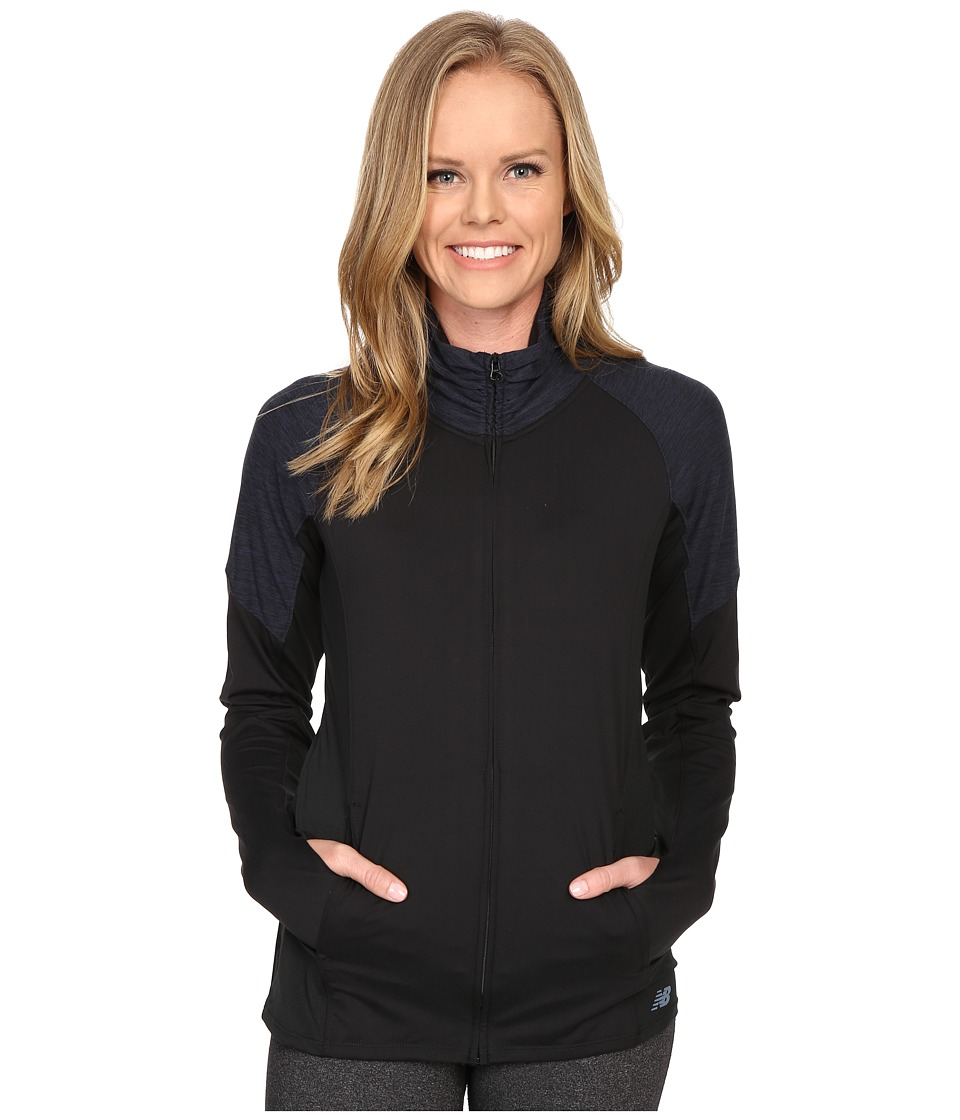 New Balance - Studio Jacket (Black/Grey) Women's Jacket