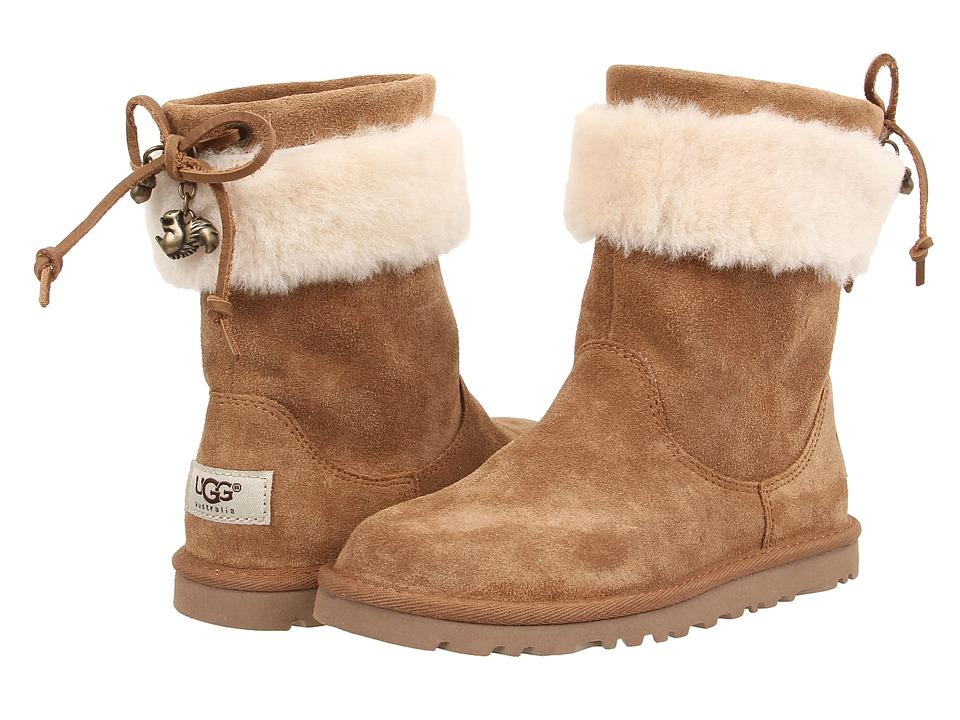 UGG Kids - Pollie (Little Kid/Big Kid) (Chestnut) Girls Shoes